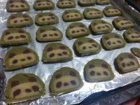 颜值高的熊猫饼干