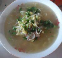 美味的豆芽汤