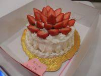 口感好的草莓奶油蛋糕