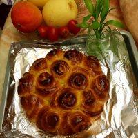 自制玫瑰花面包