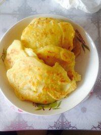 自制豆渣鸡蛋饼