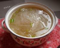 美味的冬瓜粉丝汤