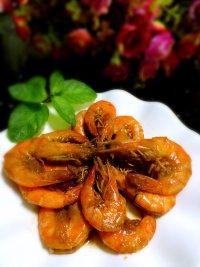 美味的油焖大虾