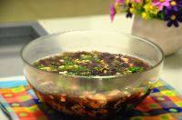 美味的虾皮紫菜蛋花汤