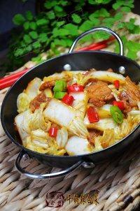 家常菜干锅辣白菜