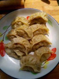 好吃不腻的蒸饺