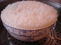 #健康食谱#蒸米饭