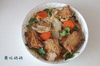 家常菜刀鱼扒白菜