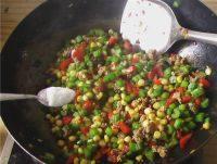 家常菜肉末芹菜