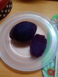 简单的蒸紫薯