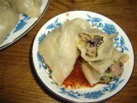 健康美食烫面蒸饺
