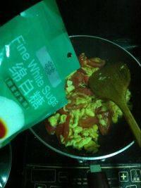 简单的鸡蛋炒西红柿