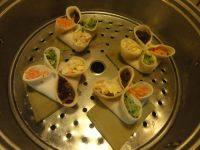 喜庆的四喜蒸饺