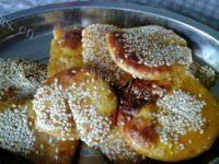 自己做的南瓜饼