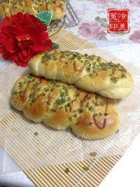 美味的香葱芝士辫子面包