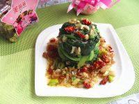 自制浇汁菠菜