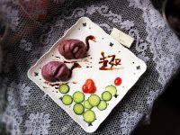 自己做的紫薯花卷