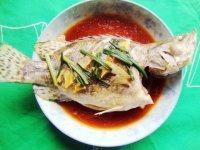 【家有大厨】清蒸桂鱼