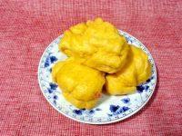 中式主食南瓜花卷