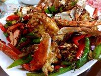 美味的香辣蟹