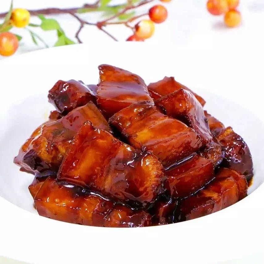 松茸红烧肉