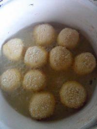 自制红薯酸奶球