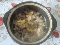 美味的酸菜汤