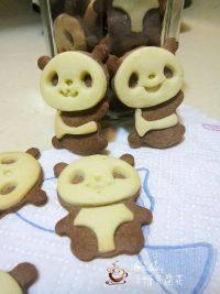绝味的熊猫饼干
