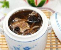 【家有大厨】茶树菇排骨汤