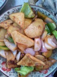 美味的干锅千页豆腐
