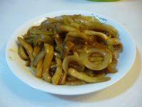 家常菜洋葱炒杏鲍菇