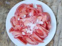 自己做的糖拌西红柿