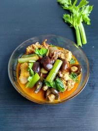 家常菜香菇烧鸡