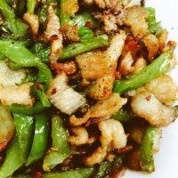 家常菜青椒炒肉丝