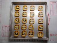 自制熊猫饼干