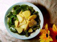 家常菜青椒土豆片