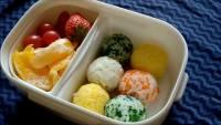 自制彩色饭团