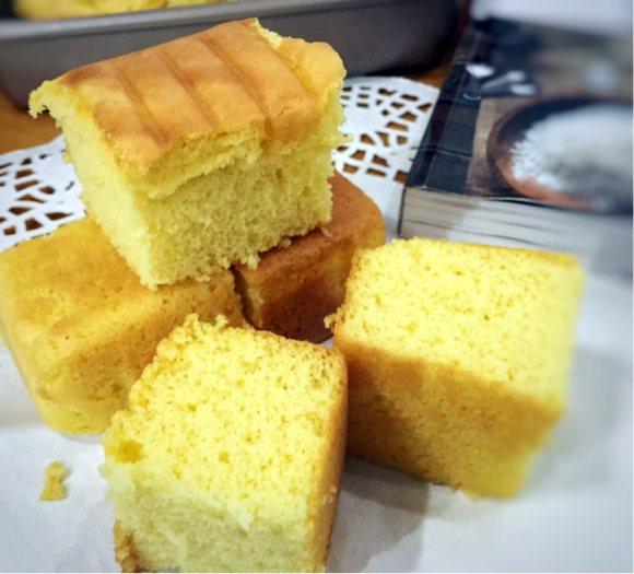 喷香的法式海绵蛋糕