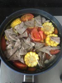 家常菜番茄猪肝汤