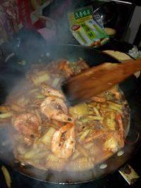 家庭版干锅香辣虾
