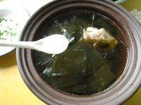 色味俱佳的排骨海带汤