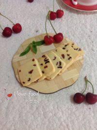 美味的蔓越莓饼干