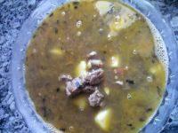美味的牛肉汤