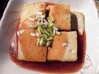 秀色可餐的茄汁豆腐