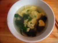 爱上菠菜鸡蛋汤
