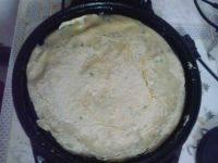 自己做的香葱鸡蛋饼