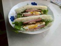 诱人的三明治