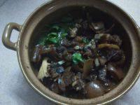 美味的羊肉煲