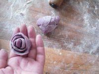 自己做的玫瑰花卷