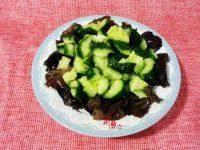 家常菜黄瓜拌木耳